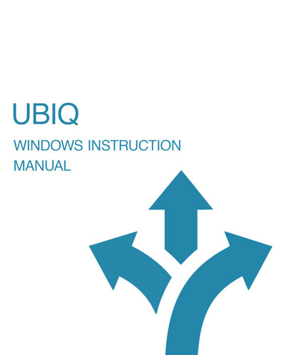 Windows Instruction Manual