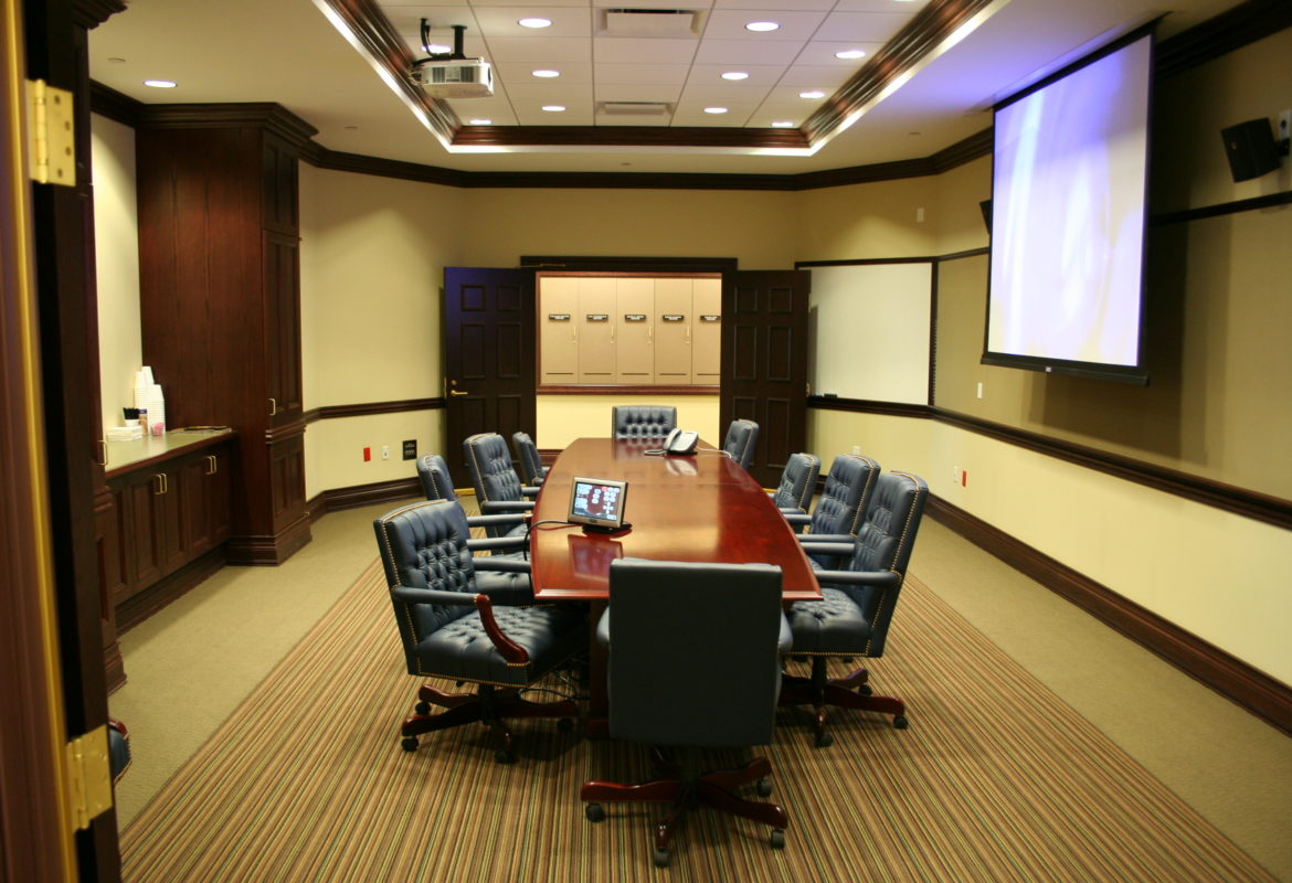 shared conference room pc