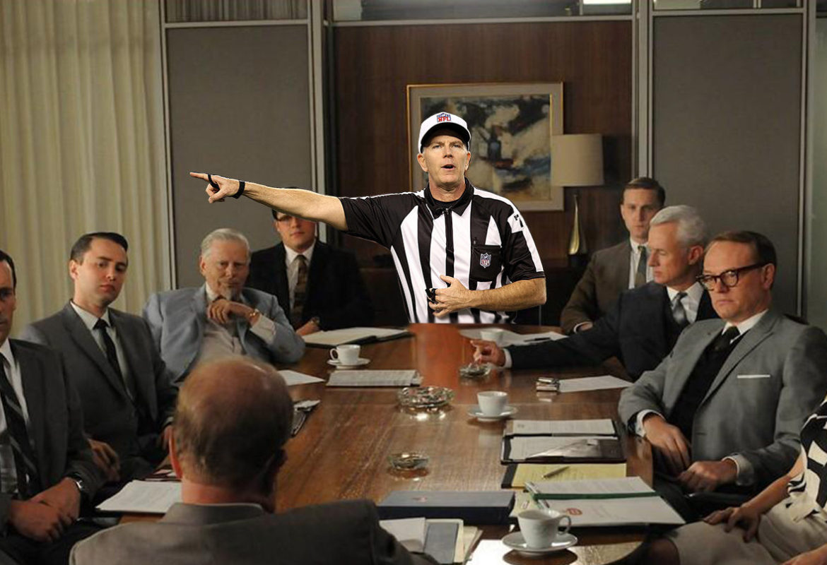 Don't be afraid to play referee during business meetings