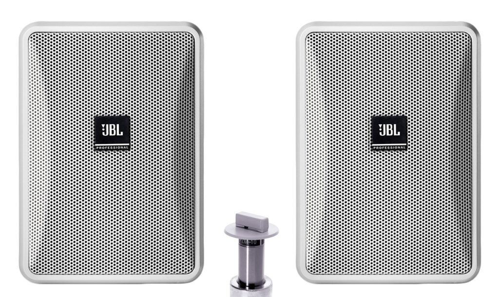JBL Basic Double-Zone, 70V Wall Mount Sound System