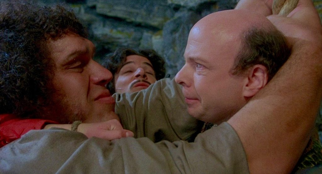 A still from The Princess Bride illustrates one of the key symptoms of Groupthink.