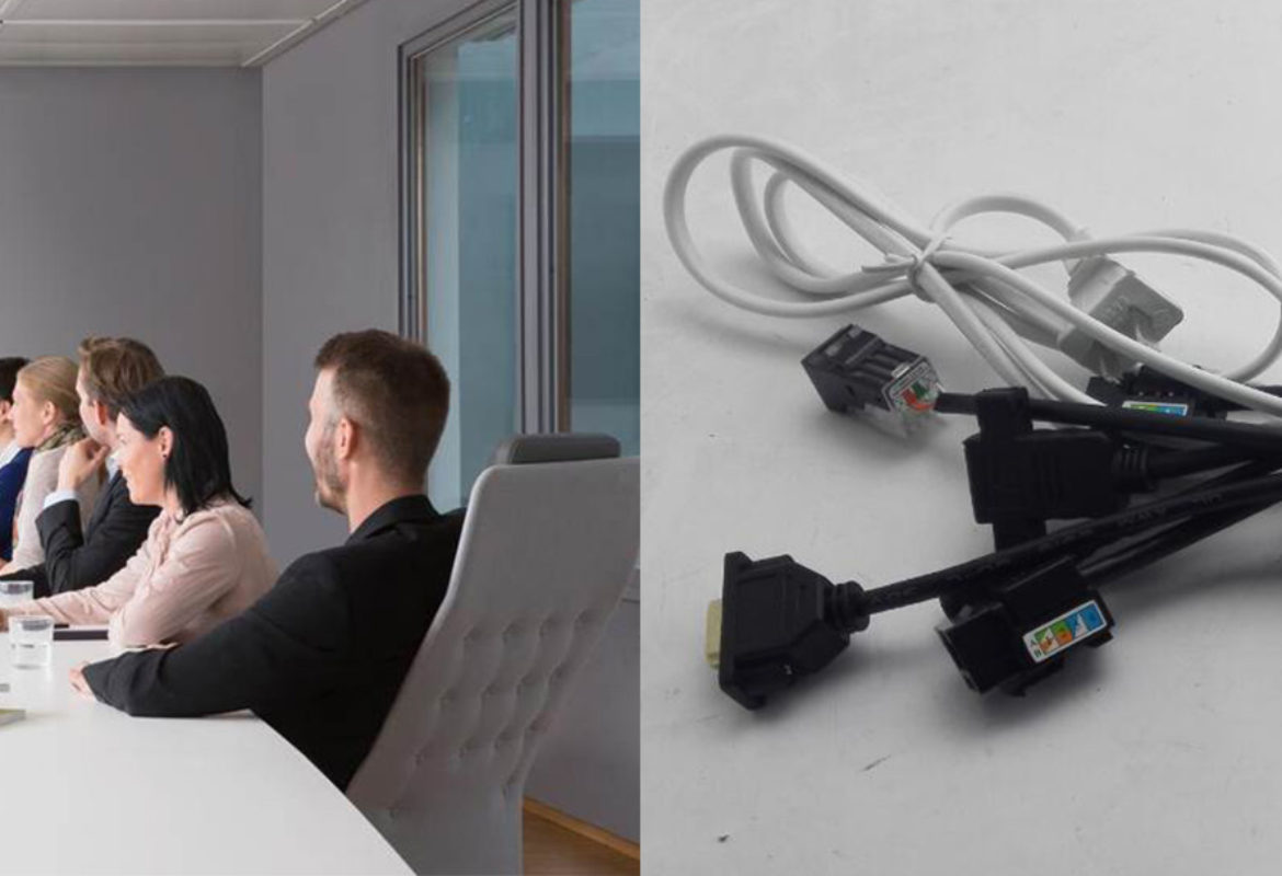 wireless conference rooms vs. cabled conference rooms