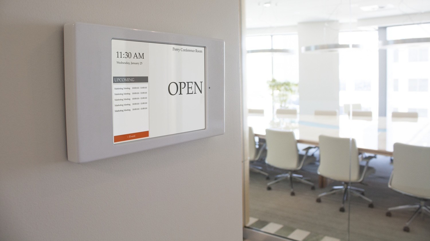 Conference Room Schedule Display Solutions 4 Suggestions Ubiq