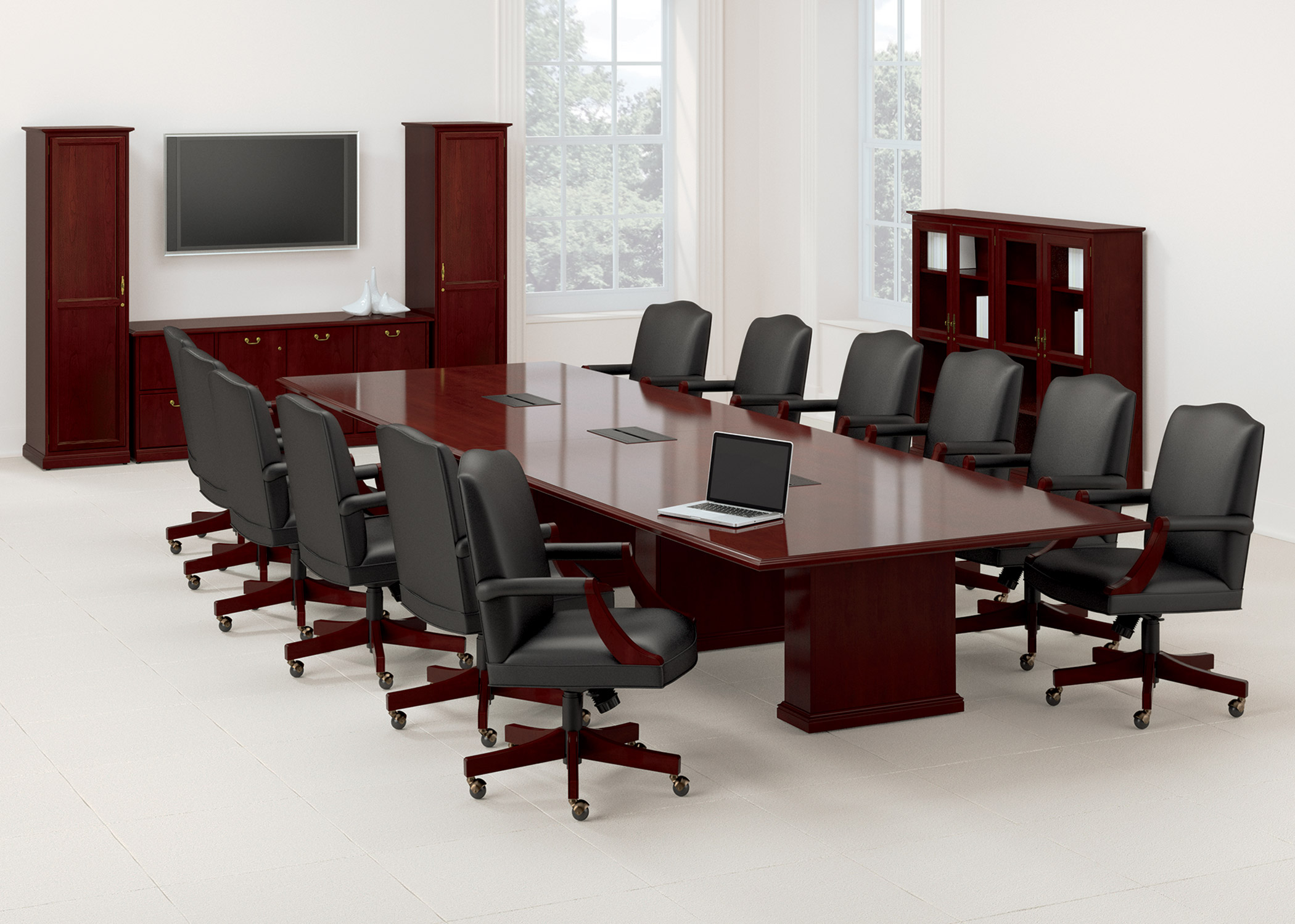 conference room tables 10 styles to choose from ubiq. Black Bedroom Furniture Sets. Home Design Ideas